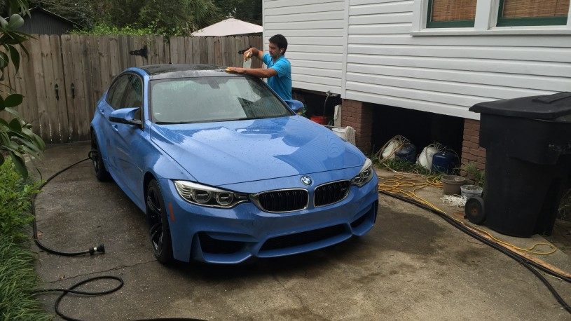 2015 BMW M3 Marina Blue