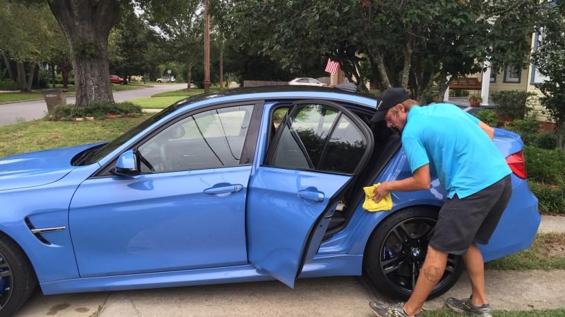 2015 BMW M3 Marina Blue