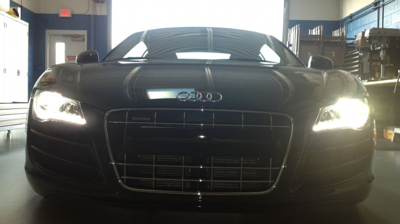 Audi R8 V10 Monthly Maintenance Detail