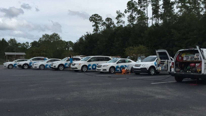 Weekly Vehicle Fleet Servicing for Cox Communications