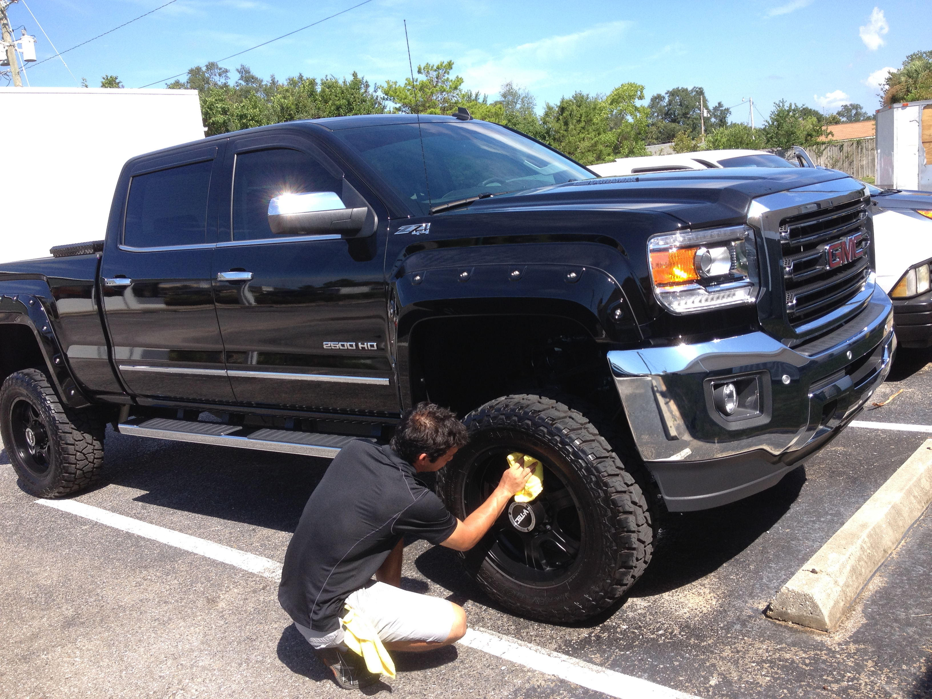 Z71 Chevy Truck GMC 2500 HD Business Class Detail - Pensacola Auto ...